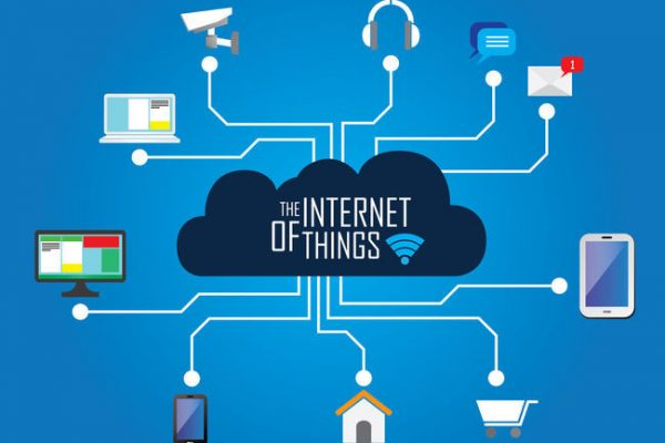 47531883 - the internet of things flat iconic illustration