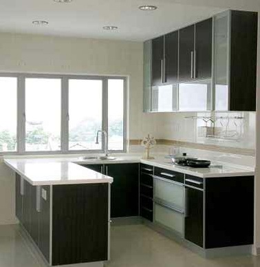 U Shape Modular Kitchen Hi Tech Modular Kitchen